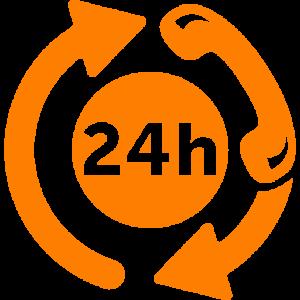 24 uurs service
